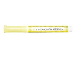 Kirarina Wink Lemon Yellow Glitter Pen