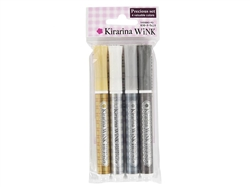 Kirarina Wink 4pc Precious Pen Set