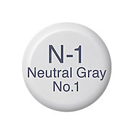 Copic Ink N1 Neutral Gray No. 1