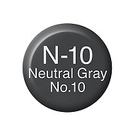 Copic Ink N10 Neutral Gray No. 10