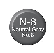 Copic Ink N8 Neutral Gray No. 8