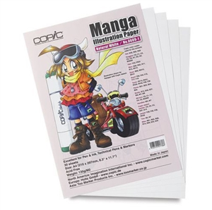 Copic Manga Illustration Paper [Natural White] Size A4