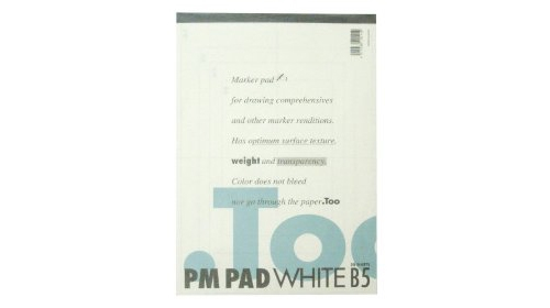 PM PAD - Copic Paper Marker Pad - Size B5 - 50 Sheets