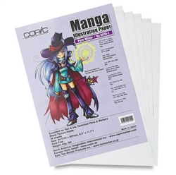 Copic Manga Illustration Paper [Pure White] Size A4