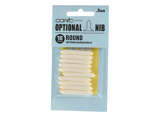 COPIC Classic Marker Nibs - Round (Set of 10)
