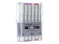 Copic Sketch Markers: 12 Color Set [EX-5]