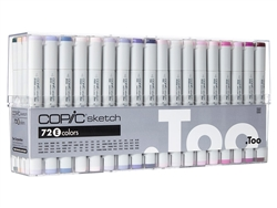 Copic Sketch Markers: 72 Color Set E