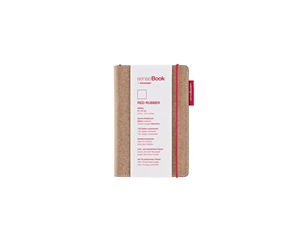 senseBook 4x6 Red Rubber Blank