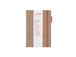 senseBook 6x8 Red Rubber Blank