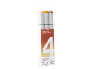 Copic Sketch Color Fusion Set 4 - Set of 3 Markers