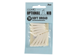 Classic Copic Marker Nibs Soft Broad (Set of 10)