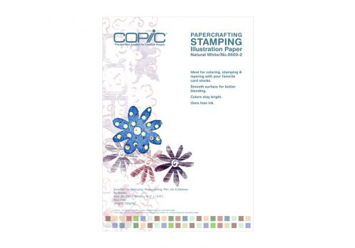 Copic Stamping Illustration Paper [Natural White] Size A4