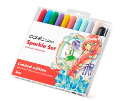 Copic Ciao Sparkle Set Limited Edition