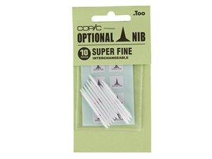 COPIC - Marker Replacement Nibs - Super Fine (Set of 10)