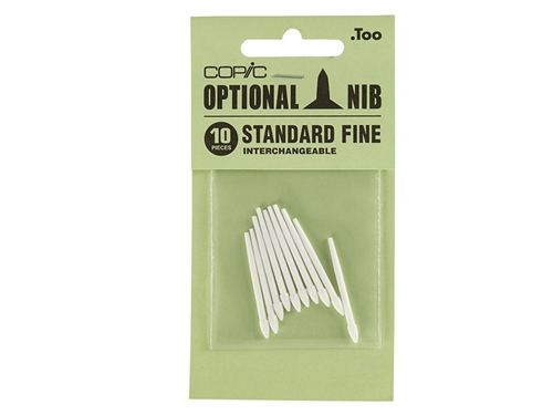 COPIC Classic Marker Nibs Standard Fine (Set of 10)