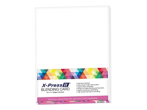 X-Press Blending Card 8.5 x 11 inches Letter Size White [125 Sheet Count]