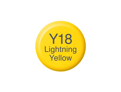 Copic Ink Y18 Lightning Yellow