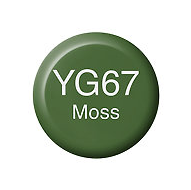 Copic Ink YG67 Moss