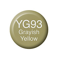 Copic Ink YG93 Grayish Yellow