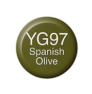 Copic Ink YG97 Spanish Olive