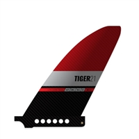 Black Project Tiger SUP Race Fin at Paddle Dynamics