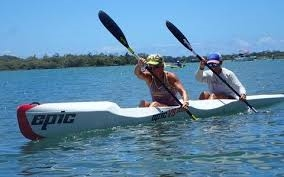 Epic V8 Double Gen 2 Surfski Kayak at Paddle Dynamics