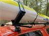 Custom Design Double wide V's EZ-Vee Kayak, surfski or OC Roof Rack System from KayakPro with stronger 7' Bars, the best V-bars on the market.