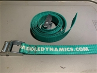 "Paddle Dynamics  1""x6' Heavy Duty Polyester tie down straps for canoes and kayaks"