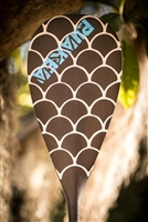 Puakea Designs Polu All Carbon Outrigger Canoe Paddle for sale at Paddle Dynamics