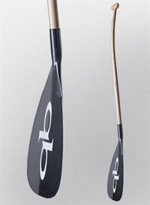 Quickblade Kanaha Outrigger Canoe Paddle (OC), double bend hybrid, buy at Paddle Dynamics
