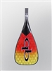 Quickblade V Drive 111 Full Carbon Vector Net Double bend outrigger canoe (OC) paddle