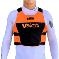 **SALE**. NEW Vaikobi VXP Race PFD / Life Jacket - Fluro Orange/Black at Paddle Dynamics