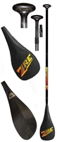 FREE SHIPPING ZRE Power Surge Carbon SUP Paddle, buy now at Paddle Dynamics, your high performance paddle expert.