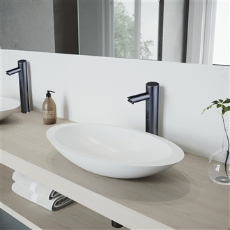 Clares Oil Rubbed Bronze Automatic Sensor Faucets