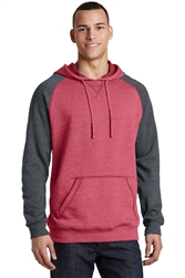 Men's Lightweight Fleece Raglan Hoodie by District®