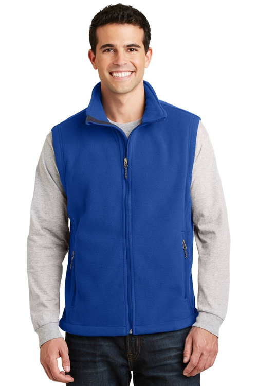 Men's Value Fleece Vest by Port Authority