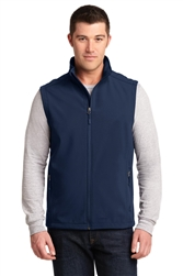 Men's Core Soft Shell Vest by Port Authority