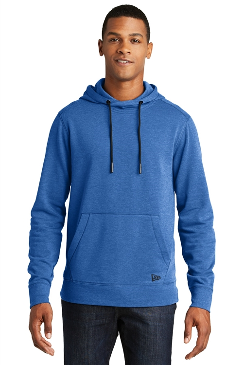 Men's Tri-Blend Fleece Pullover Hoodie by New Era®