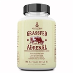 Adrenal - Grass Fed - Adrenal, Andrenal Cortex, and Liver - Ancestral Supplements - 180 caps (0.16 lbs)