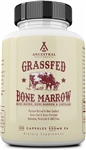 Bone Marrow - Grass Fed - Bone Matrix, Bone Marrow, and Cartilage - Ancestral Supplements - 180 caps (0.16 lbs)