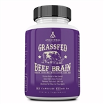 Beef Brain - Grass Fed - With Liver - Ancestral Supplements - 180 caps (0.16 lbs)