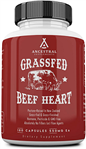 Beef Heart - Grass Fed - Ancestral Supplements - 180 caps (0.16 lbs)