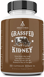 Beef Kidney - Grass Fed - Ancestral Supplements - 180 caps (0.16 lbs)