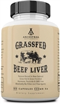 Beef Liver - Grass Fed - Ancestral Supplements - 180 caps (0.16 lbs)