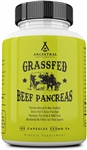 Beef Pancreas - Grass Fed - Ancestral Supplements - 180 caps (0.16 lbs)