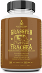 Trachea  - Grass Fed - Bovine Tracheal Cartilage With Liver - Ancestral Supplements - 180 caps (0.16 lbs)