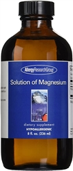 Magnesium Solution - Allergy Research Group 8 fl.oz. [236 ml] (0.98 lbs)