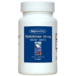 Nattokinase NSK-SD - Allergy Research Group 100 mg 60 softgels (0.10 lbs)