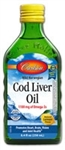 Cod Liver Oil, Lemon Flavored - Carlson 250 ml (1.05 lbs)