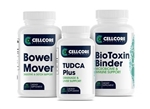 Detox Pack - Bowel Mover-Advanced TUDCA-BioToxin Binder - CellCore Biosciences (0.55 lbs)
